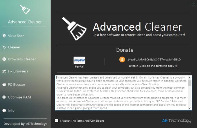Advanced Cleaner