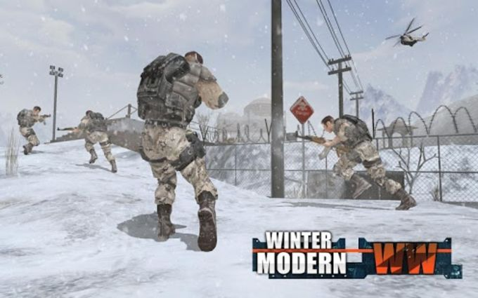 Rules of Modern World War Winter FPS Shooting Game