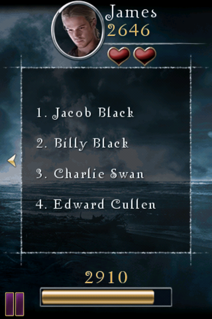 Twilight: The Movie Game