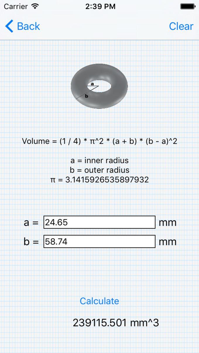 CalculateVolume