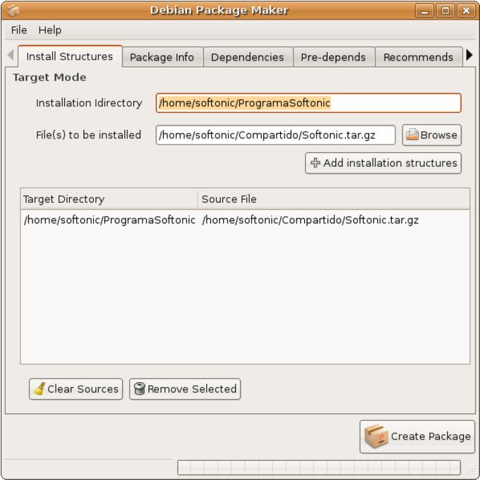 Debian Package Maker