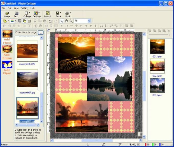 iFoxSoft Photo Collage