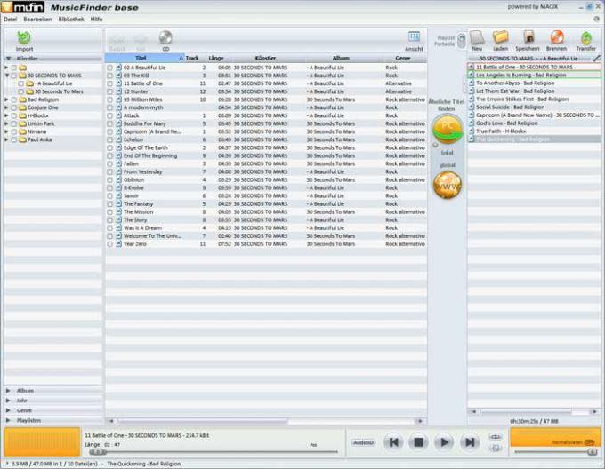 Mufin MusicFinder