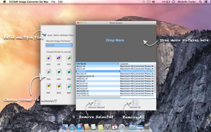 321Soft Image Converter for Mac