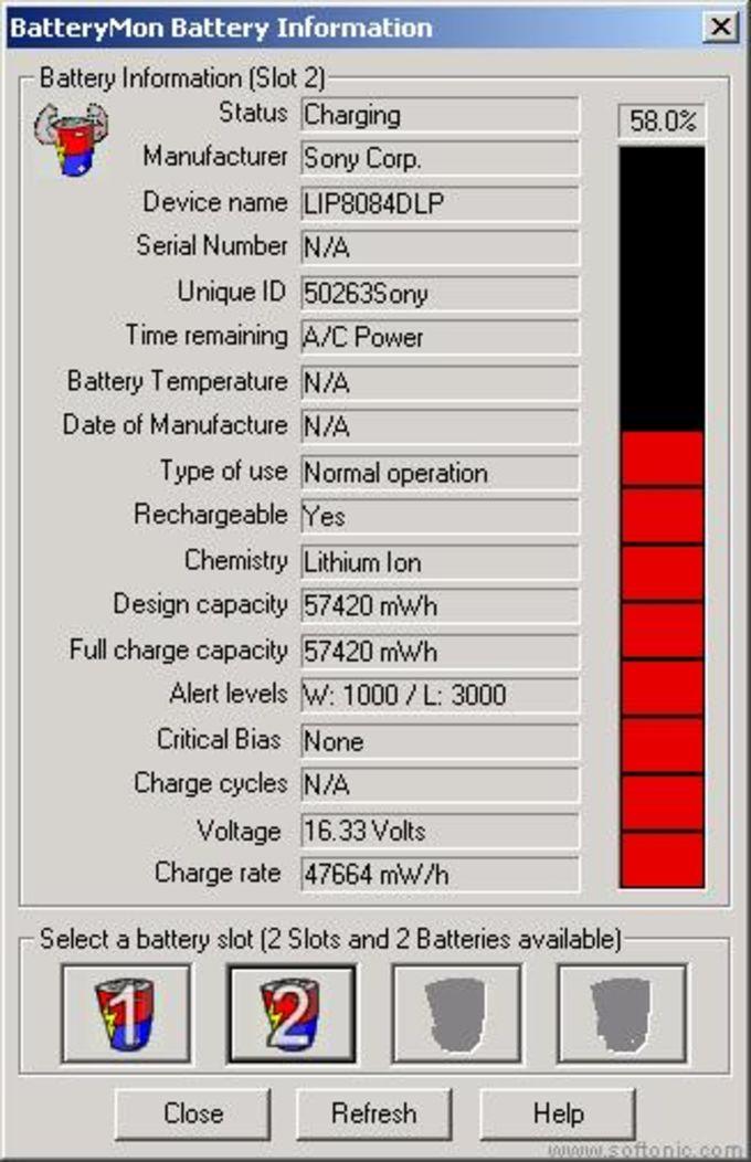 PassMark BatteryMon