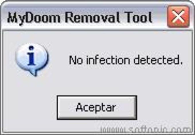 Mydoom (A,B) and Doomjuice.A Worm Removal Tool