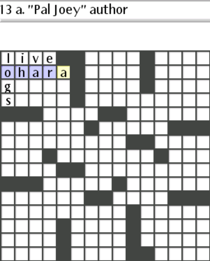 Be Crossword