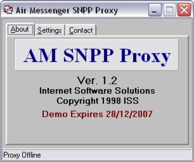 Air Messenger SNPP Proxy Server