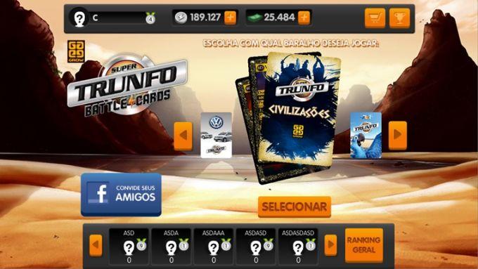 Super Trunfo Battle Cards