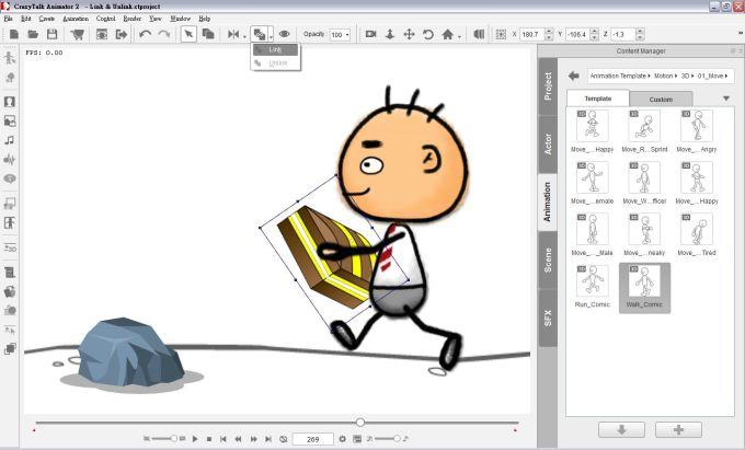 Crazy Talk Animator