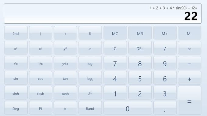 Calculator X8 per Windows 10