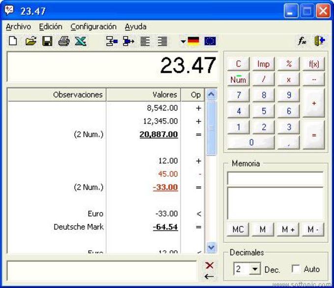 DeskCalc - Descargar