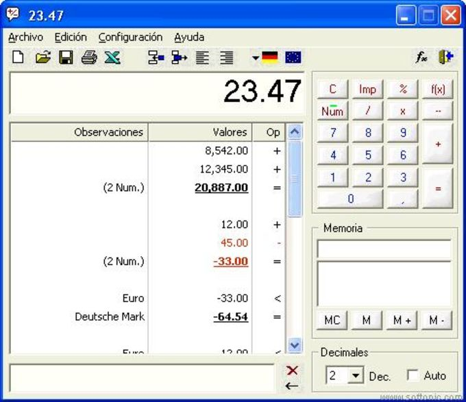 DeskCalc