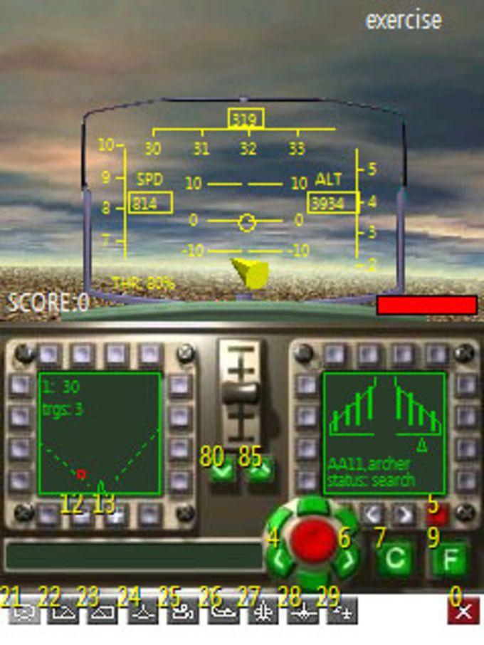 3D Mini-JetFight