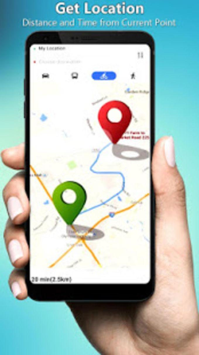 GPS Satellite Live Maps Navigation  Direction