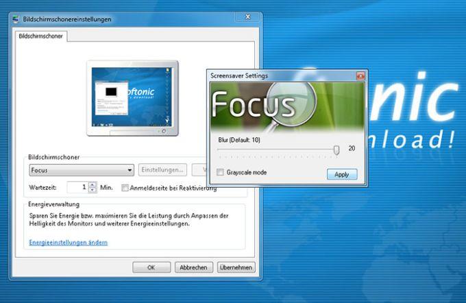 Focus Screensaver
