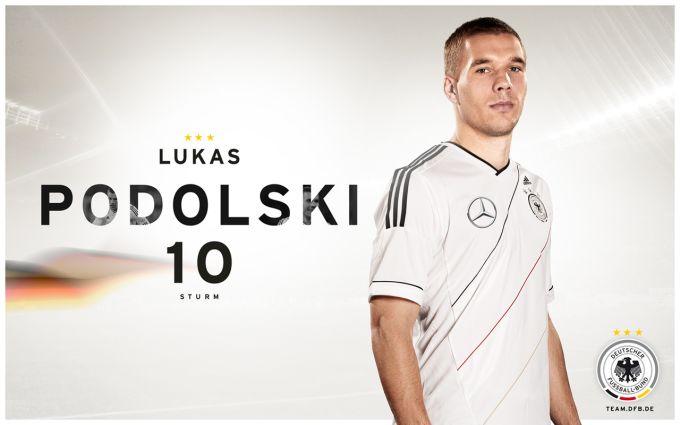 DFB Wallpaper Lukas Podolski