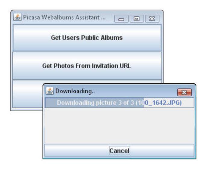 Picasa Webalbums Assistant