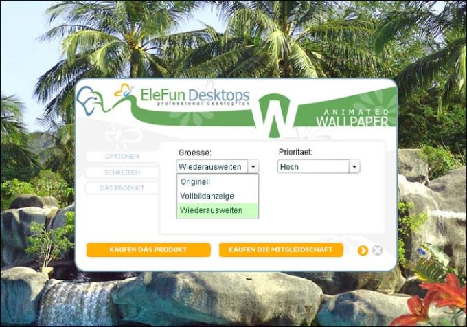 Tropic Waterfall – Animated Wallpaper