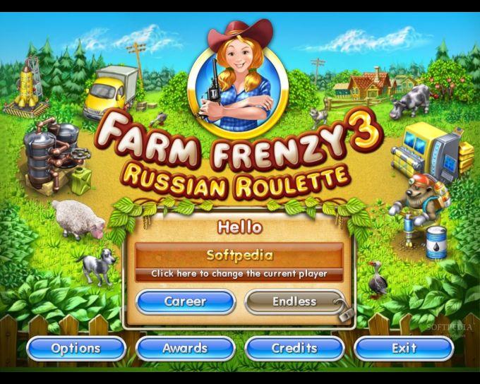 профиль пройденный для весёлой фермы 3 русская рулетка
