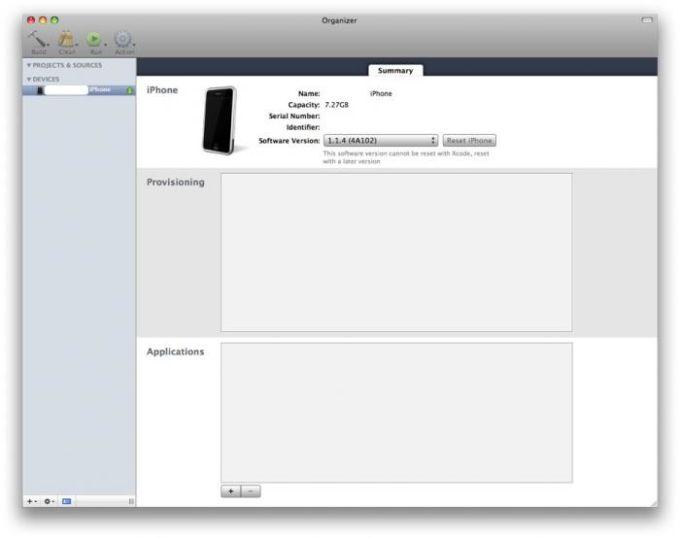 Apple iPhone SDK