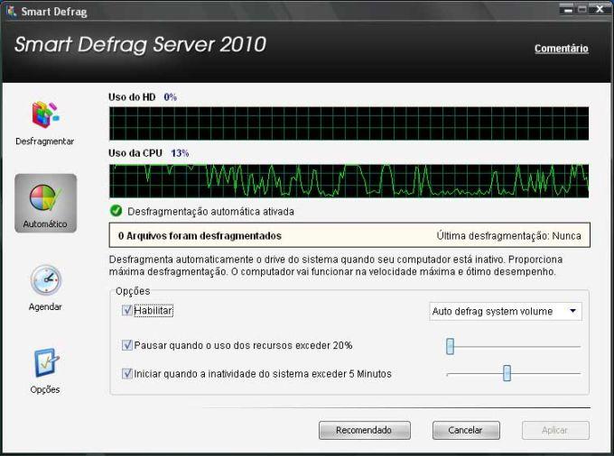 IObit Smart Defrag Server
