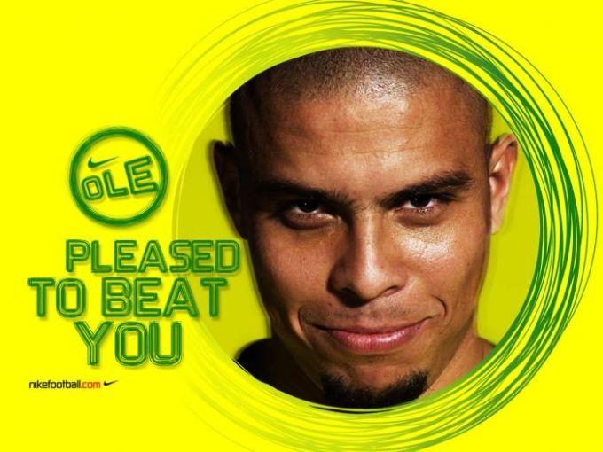 Ronaldo Pleased to Beat You