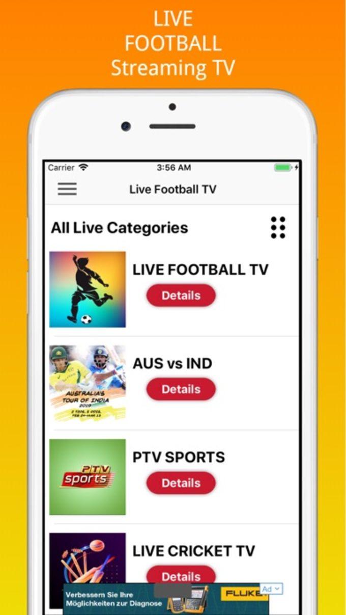 Live Football Streaming Tv