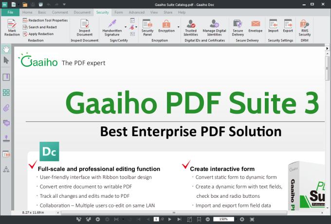 Gaaiho PDF Suite 32 bits
