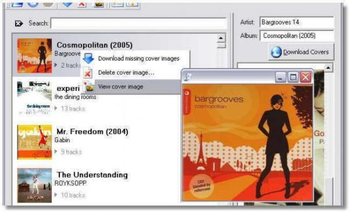 Album Cover Art Downloader