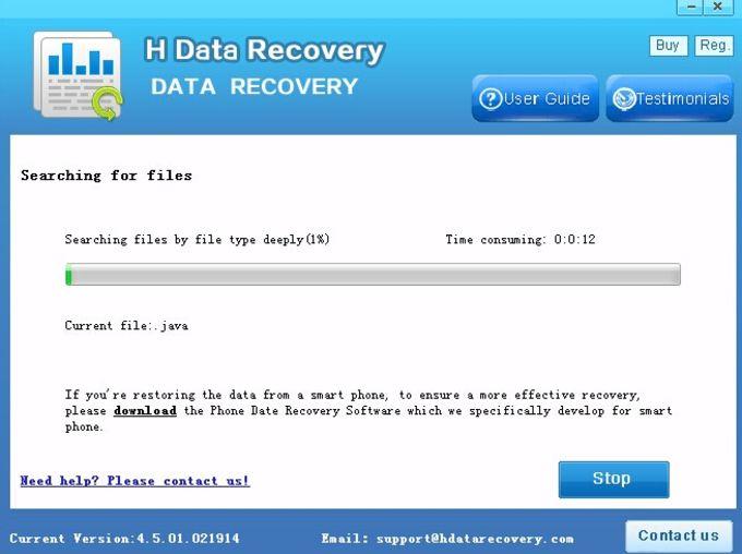HData Recovery Master