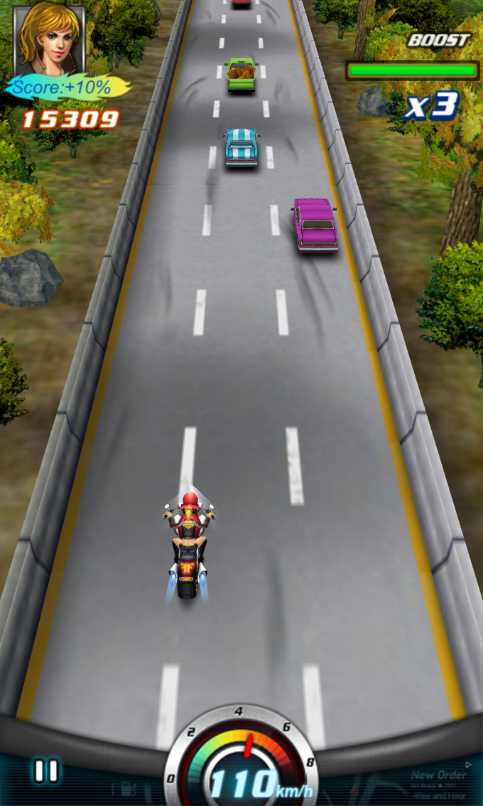 Crazy Moto Racing 3D