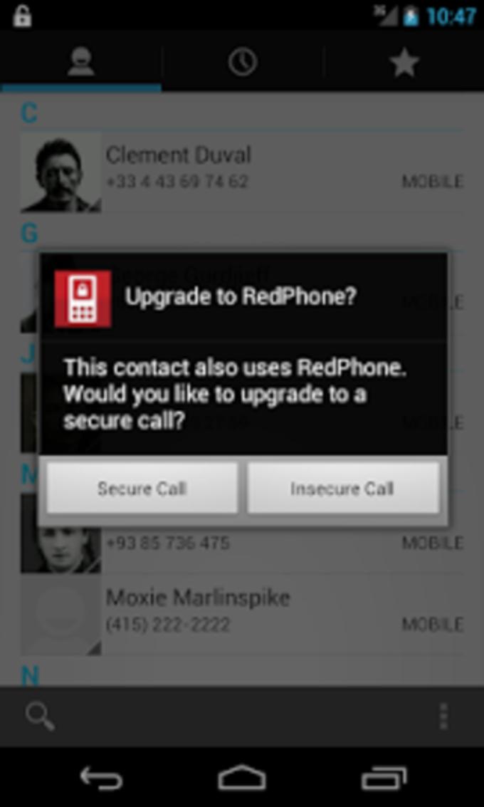 RedPhone :: Secure Calls