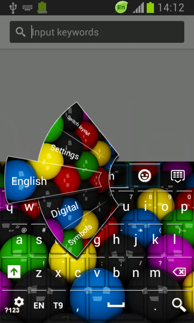 Keyboard For Galaxy S5