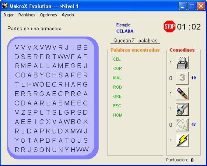 Makrox Sopas de Letras