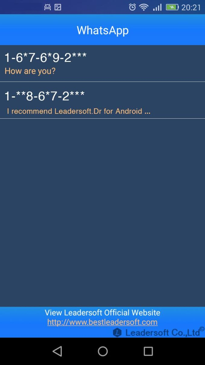 Leadersoft.DR for Android