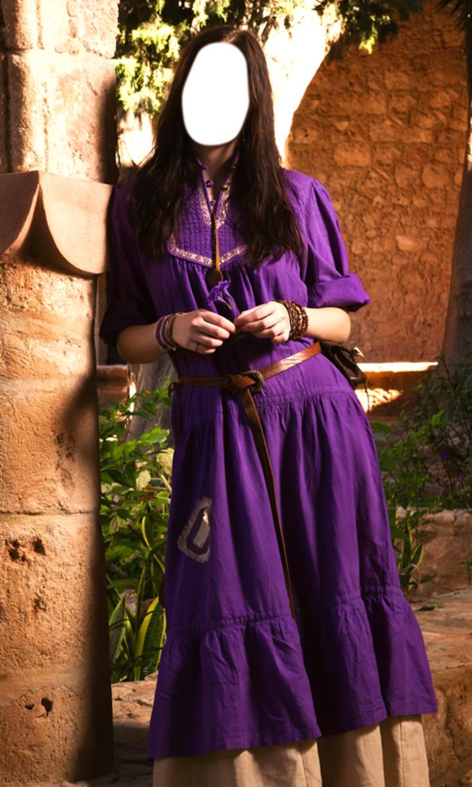 Medieval Women Dress Editor