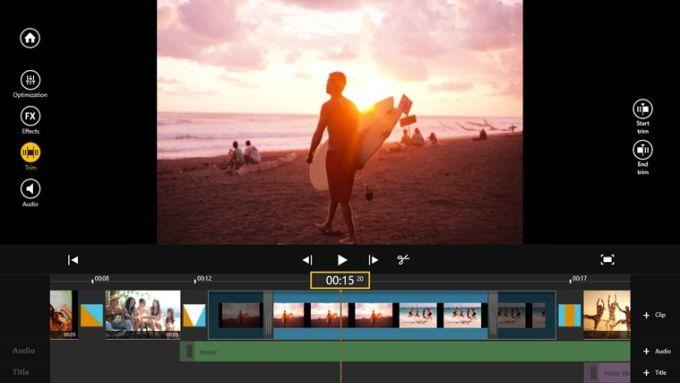 Movie Edit Touch