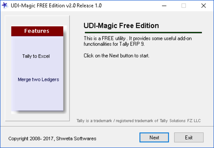 udiMagic Free Edition