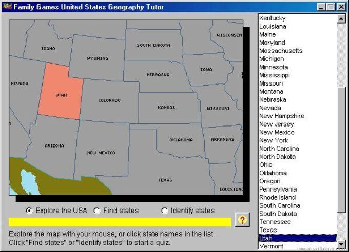United States Geography Tutor