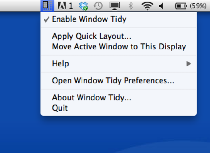 Window Tidy