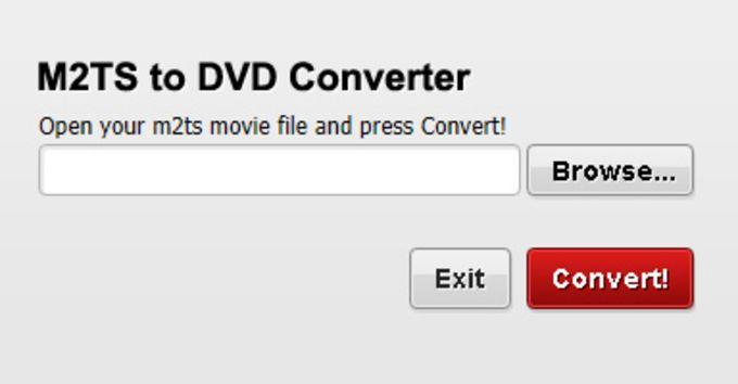 Free M2TS to DVD Converter