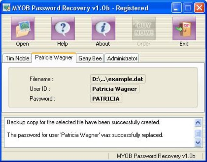 Peachtree Password Recovery