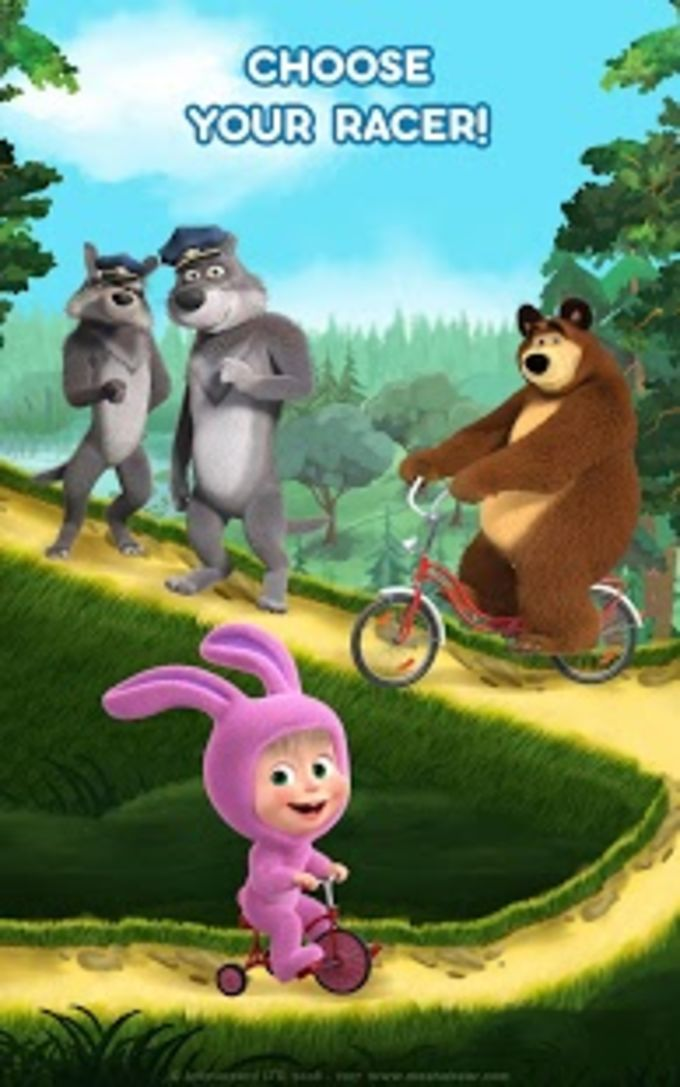 Masha and the Bear Hill Climb and Car Games