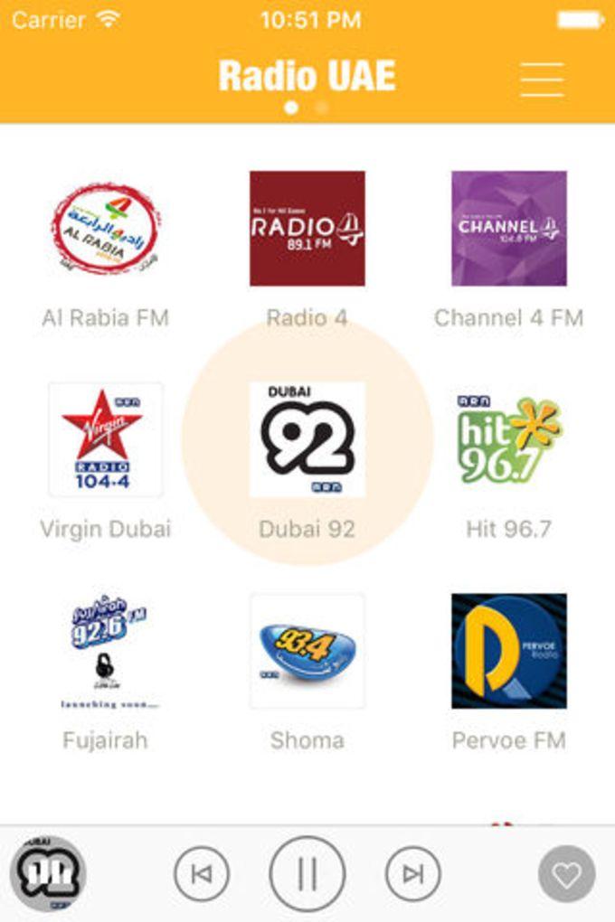 Radio UAE FM (Emirates Radios) - Al Rabea Arabiya