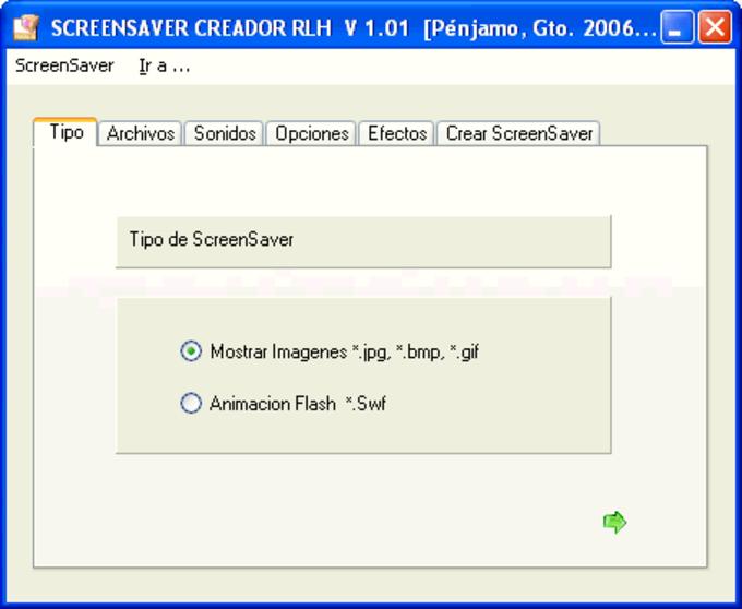 ScreenSaver Creador RLH