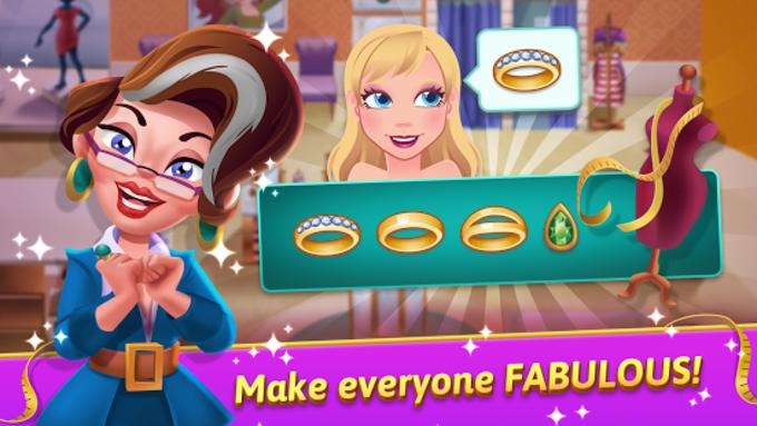 Fashion Salon Dash - Fashion Shop Simulator Game
