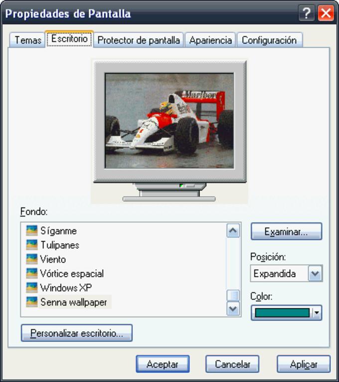 Tema de Ayrton Senna