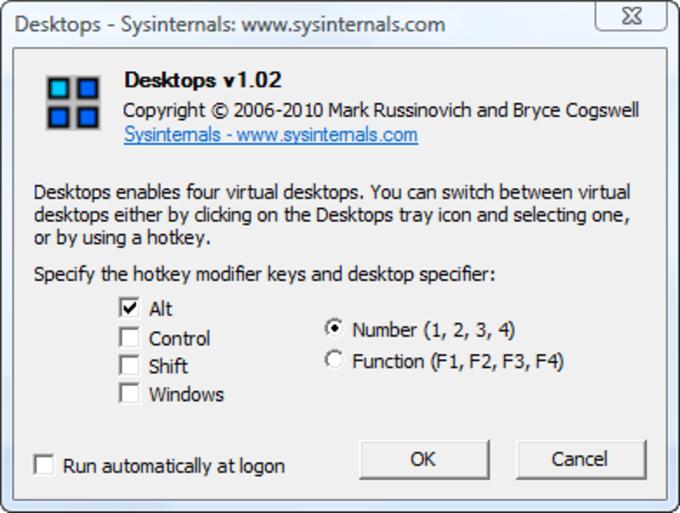 Microsoft Desktops