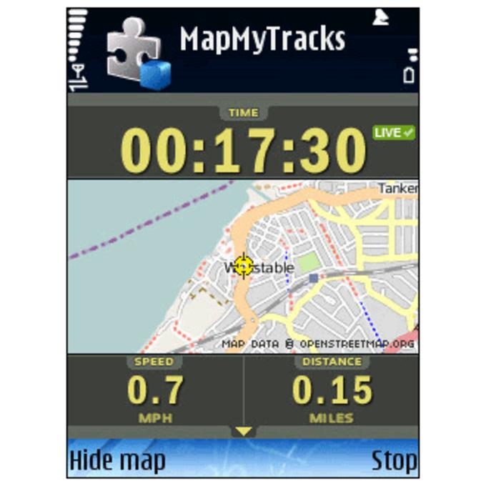 Map My Tracks